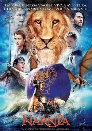 Capa do filme As Crônicas de Nárnia: A Viagem do Peregrino da Alvorada