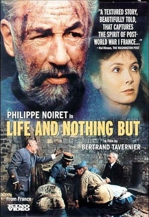 Capa do filme A Vida e Nada Mais
