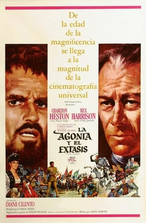 VER La agonía y el éxtasis (1965) Online Gratis HD