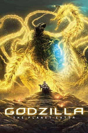 Godzilla: The Planet Eater cover