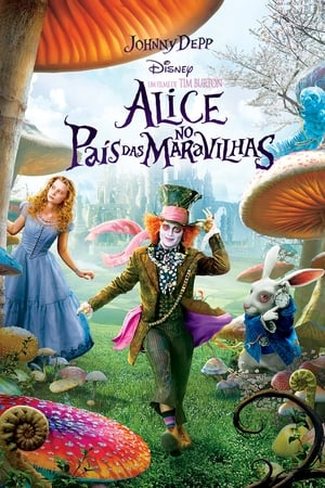 Alice no País das Maravilhas Torrent, Download, movie, filme, poster