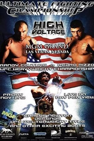 UFC 34: High Voltage-Azwaad Movie Database