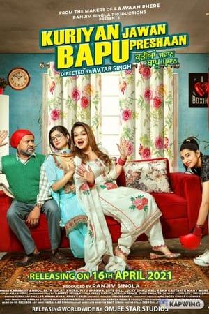 Kuriyan Jawan Bapu Preshaan (2021) Punjabi Movie