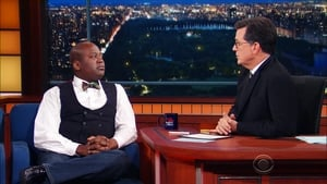 The Late Show with Stephen Colbert Season 2 :Episode 4  Tituss Burgess, Jeff Ross, Adam Richman