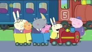 El tren del Abuelo Pig al rescate