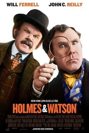 Holmes e Watson Torrent, Download, movie, filme, poster