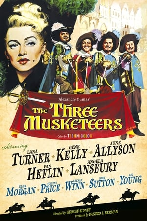 The Three Musketeers streaming