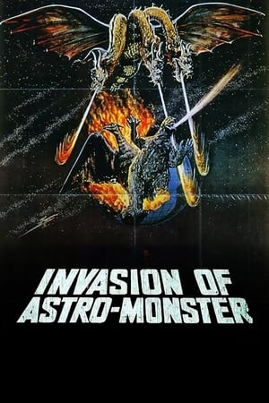 poster Invasion of Astro-Monster
