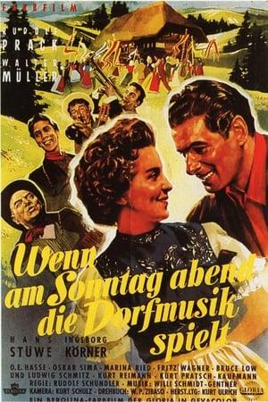 Wenn am Sonntagabend die Dorfmusik spielt (1953)