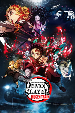 Poster Demon Slayer -Kimetsu no Yaiba- The Movie: Mugen Train (2020)