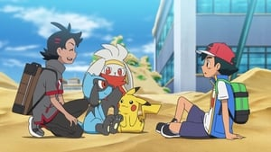 Pokémon Season 23 :Episode 36  Making Battles in the Sand!