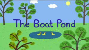 Barcos en el estanque