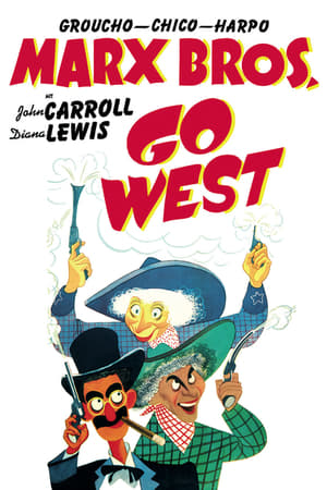 Filmcover Marx Brothers - Go West