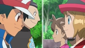 Pokémon Season 18 :Episode 42  Tag Team Battle Inspiration!