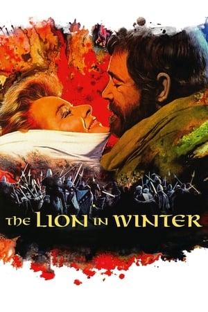 Løve ved vintertide