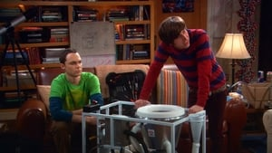 Episodio TV Online The Big Bang Theory HD Temporada 2 E22 La turbulencia de los materiales clasificados