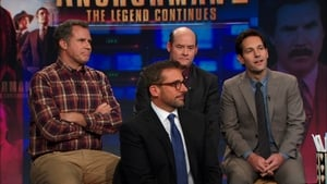 The Daily Show with Trevor Noah Season 19 :Episode 39  Steve Carell, Will Ferrell, David Koechner & Paul Rudd