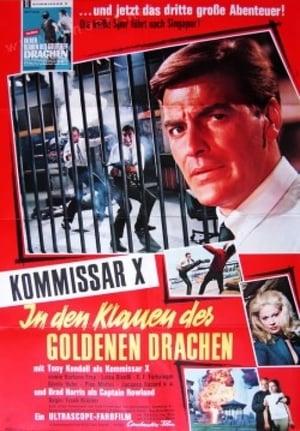 Capa do filme Kommissar X - In den Klauen des goldenen Drachen