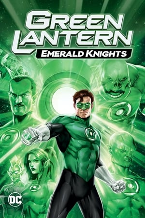 Poster Green Lantern: Emerald Knights (2011)