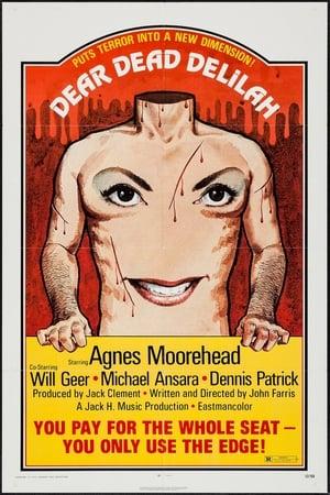 Poster Dear Dead Delilah (1972)