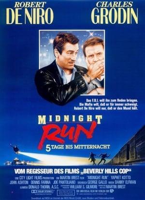 Filmposter Midnight Run - 5 Tage bis Mitternacht