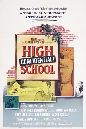 Poster High School Confidential! (1958)