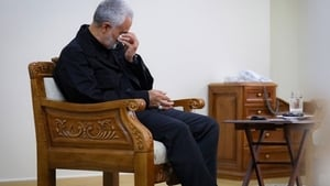 Vezi Online: In the Middle of the Fire: Exclusive conversation with Major General Soleimani (2020), film online subtitrat