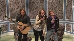 Miley Cyrus with The Strokes