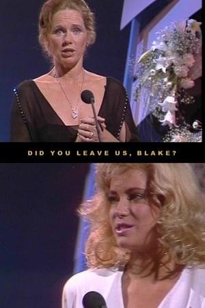 Did you leave us, Blake?