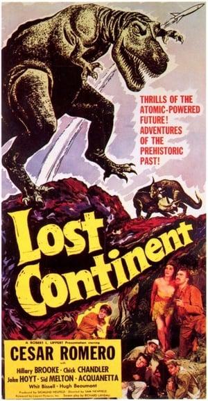 Capa do filme Continente Perdido
