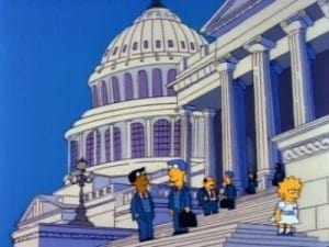 Episodio TV Online Los Simpson HD Temporada 3 E2 El Patriotismo de Lisa