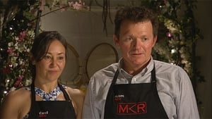 My Kitchen Rules Season 6 :Episode 9  Carol & Adam (NSW, Group 2)