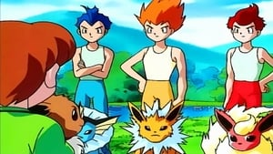 Pokémon Season 1 :Episode 40  The Battling Eevee Brothers