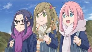 Yuru Camp△ 1 Episódio 8