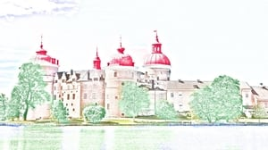 German movie from 1963: Schloss Gripsholm