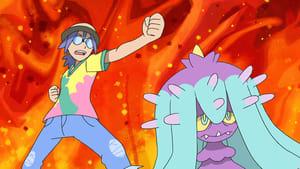Pokémon Season 22 :Episode 39  The Battlefield of Truth and Love!