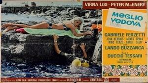 Italian movie from 1968: Better a Widow