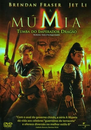 A Múmia – Tumba do Imperador Dragão Torrent, Download, movie, filme, poster