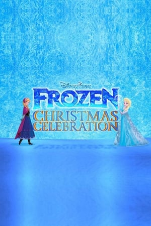 Poster Disney Parks Frozen Christmas Celebration (2014)