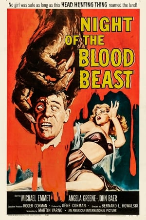 Poster Night of the Blood Beast (1958)