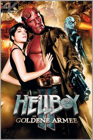 Hellboy II: The Golden Army film posters