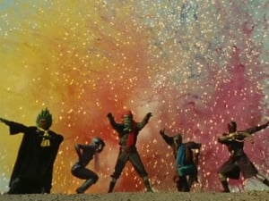 Super Sentai Season 14 : Gingaman Appears