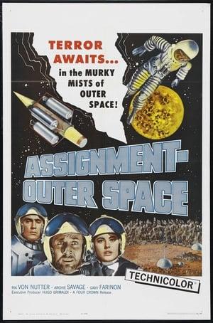 Capa do filme Space Men