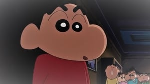 Japanese movie from 2004: Crayon Shin-chan: Fierceness That Invites Storm! The Kasukabe Boys of the Evening Sun