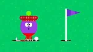 The Crazy Golf Badge