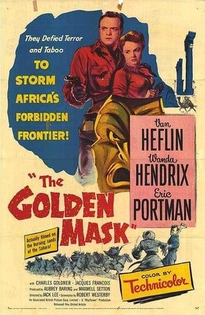 Capa do filme A Máscara de Ouro