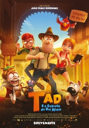 As Aventuras de Tadeo 2 – O Segredo do Rei Midas Torrent (2018) Dual Áudio / Dublado 5.1 BluRay 720p | 1080p – Download