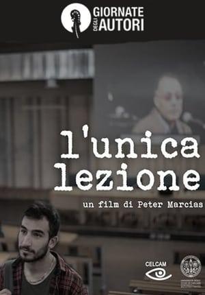 Watch L'unica lezione Full Movie