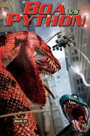 Boa vs. Python: As Predadoras Torrent, Download, movie, filme, poster