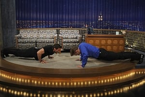 Episodio TV Online Late Night with Conan O'Brien HD Temporada 16 E45 Episodio 45